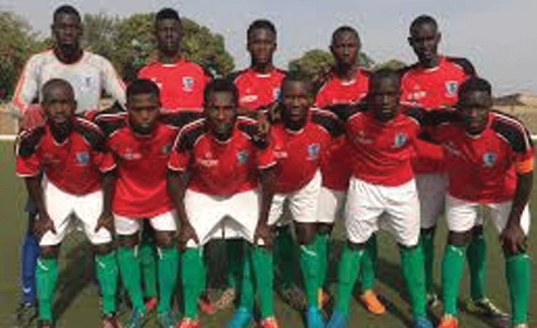 Brufut United has recovered in the 2018-2019 Gambia Football Federation