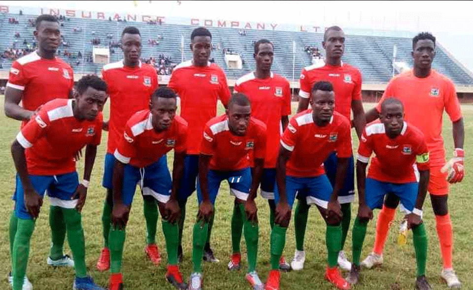 Gambia CHAN Team Winds Up Training Ahead Of Wafu Tourney