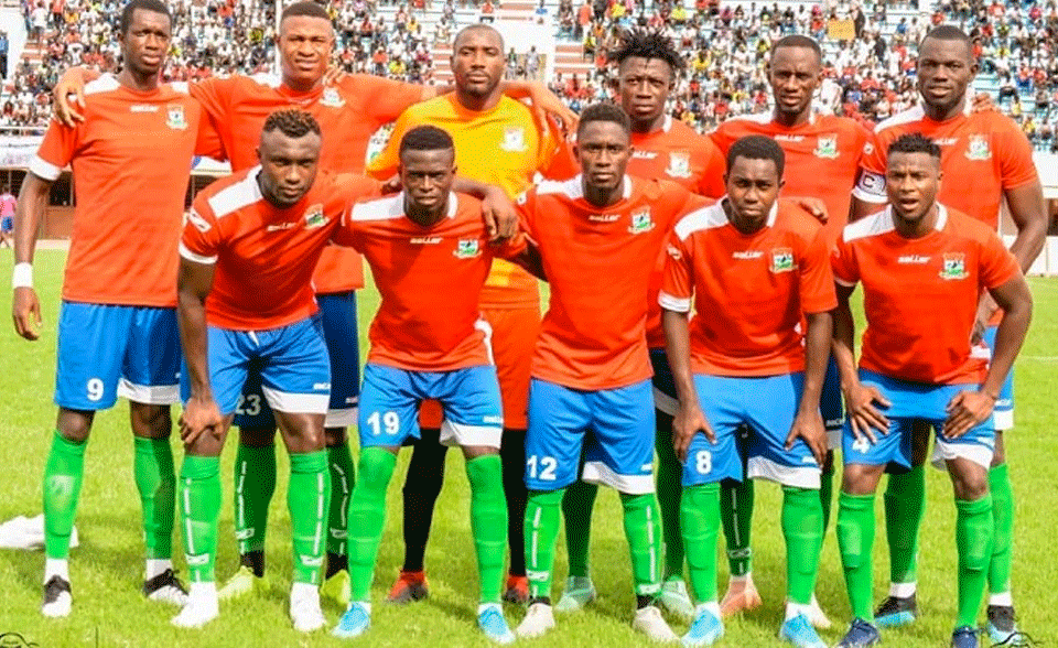 Gambia Triumphs Over Very  Improved Djibouti To Set Maiden Afcon 2021 Qualifiers Proper