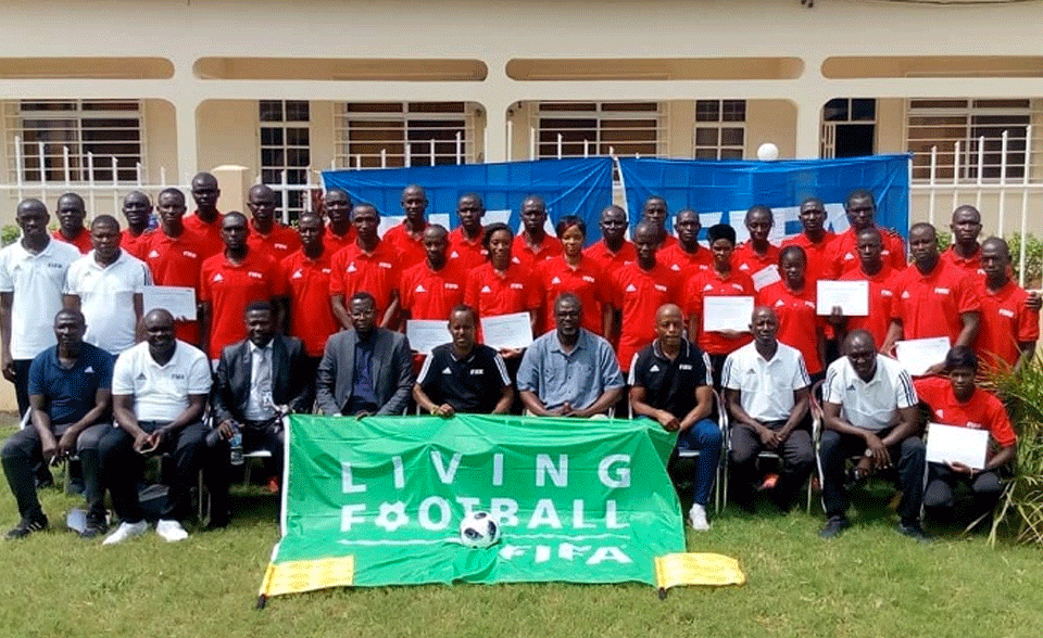 Referees Training Wraps Up At NTTC