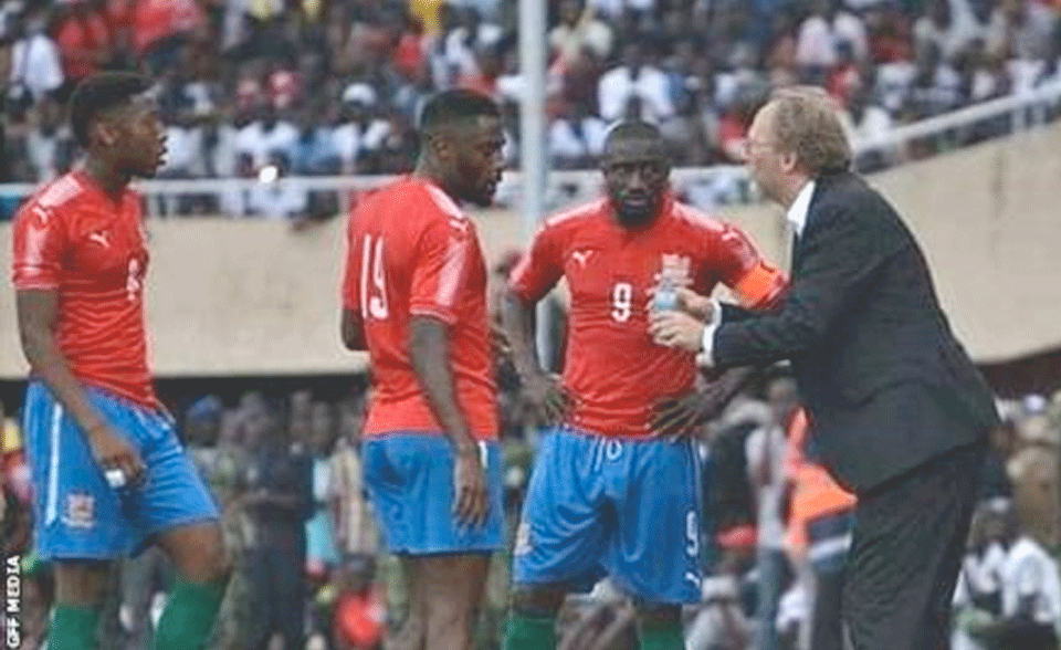 Saintfiet Sounds Optimistic As Scorpions Open Afcon 2021 Campaign
