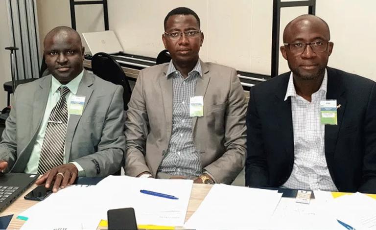 GFF Officials Arrive In SA for FIFA Football Executive Program