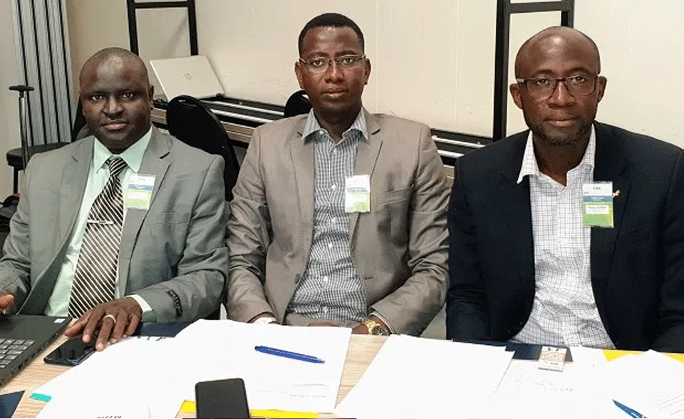 GFF Officials Arrive In SA for FIFA Football Executive Program