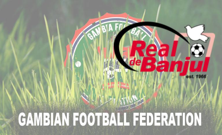 Real De Banjul Shuns GFF Decision Amid Lock down Extension