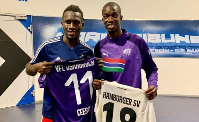 Assan Ceesay's VfL Osnabrück Dents Bakery Jatta's Hamburger SV Bid For Promotion