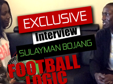 Exclusive interview with Sulayman Bojang a gambian norwegian playing in the norway league and the gambia national team the scorpion. Football Logic a exclusive program from Logic Sport.